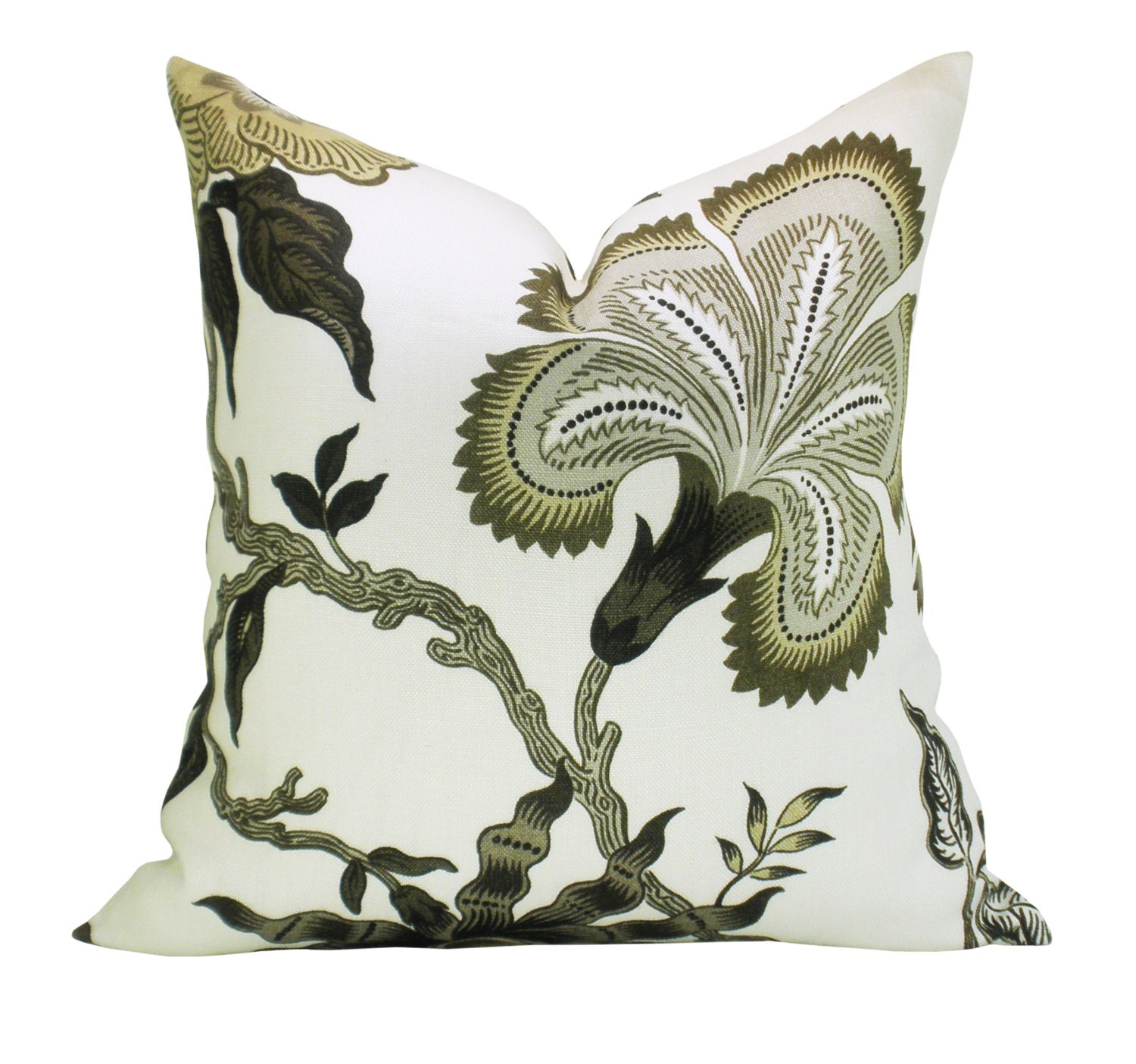 Hothouse Flowers pillow cover in Dusk