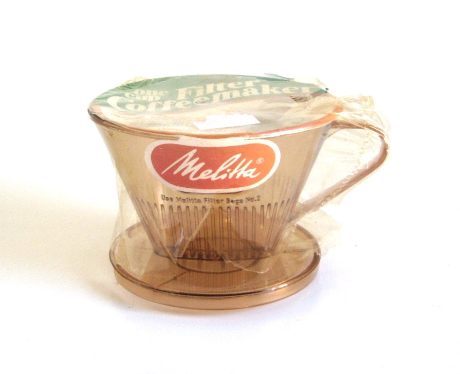 One Cup Filter Melitta Pour Over Coffee Maker by LaurasLastDitch