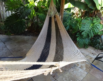 Hammocks! Adult sized cotton hand woven hammock from Guatemala.  Mayan made banana hammocks 3