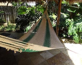 Hammocks! Adult sized cotton hand woven hammock from Guatemala.  Mayan made banana hammocks 8