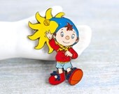 Noddy Badge - Enamel Cartoon Pin