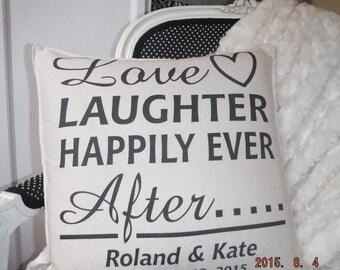 Wedding Pillow Cover