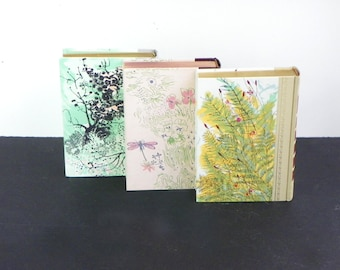 Watercolor Readers Digest Condensed  Books- Set of 3