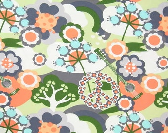 PEACE organic cotton elastane single jersey