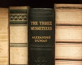 VIntage 1930s book The Three Musketeers by Alexandre Dumas illustrated by Sir John Gilbert