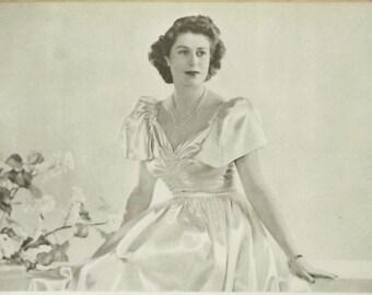 Queen Elizabeth II as Princess Elizabeth book by Dermot Morrah vintage 1940s book