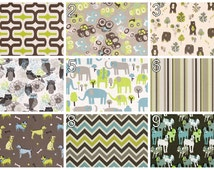 Childrens Curtains- Pair of Drapery Panels- Premier Prints Mantis Grey Green Curtains- 25W or 50W x 63 84 96 108L inch Drapes- Kids Decor
