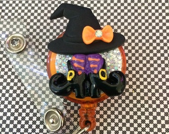 Retractable ID Badge Reel Witch Gear
