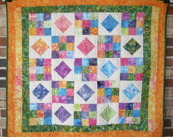"Baby's First Quilt ""Kaleidoscope"""