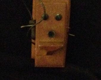 Dollhouse miniature 1960's wallphone.new