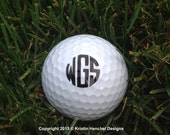 Monogrammed/Personalized ONE Golf Ball
