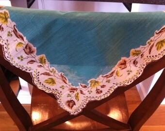 Vintage 50s Handkerchief