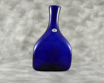 Vintage Wanda Cobalt Blue Vase