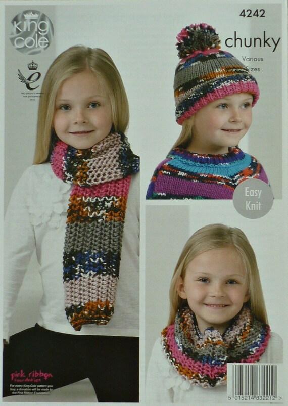 easy knitting instructions for kids