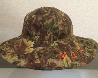 Camoflauge Boys Baby and Toddler Sun Hat