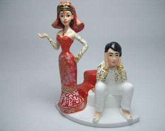 funny indian wedding cake toppers indian wedding cake topper etsy 14553