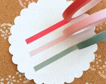 Thin Washi Tapes: Almost Valentine