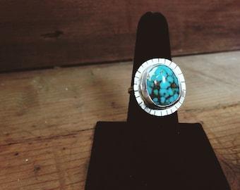 BURST// Turquoise Ring