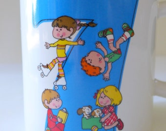 1982 Now I Am Seven Mug by Enesco