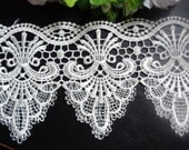 embroidery lace trim 4 1/4 inch wide select length