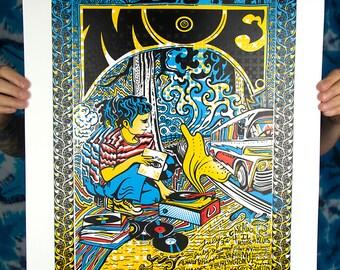 moe. Summer Tour Screen Print AP Signed moe