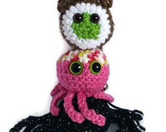 Mystery 4 pack set - Crochet Catnip Toys