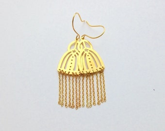 Gold Doll Earrings