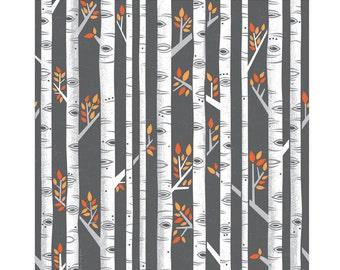 "Birches Be Crazy - 10""X10"" print"