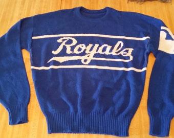 Kansas City Royals Vintage Cliff Engle Sweater XL