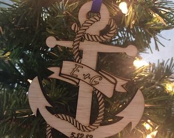 Nautical ornament  Etsy
