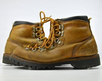 60s Irish Setter Red Wing Leather Hiking Boots Womens 7
