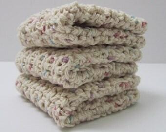 Cotton Crochet Washcloths