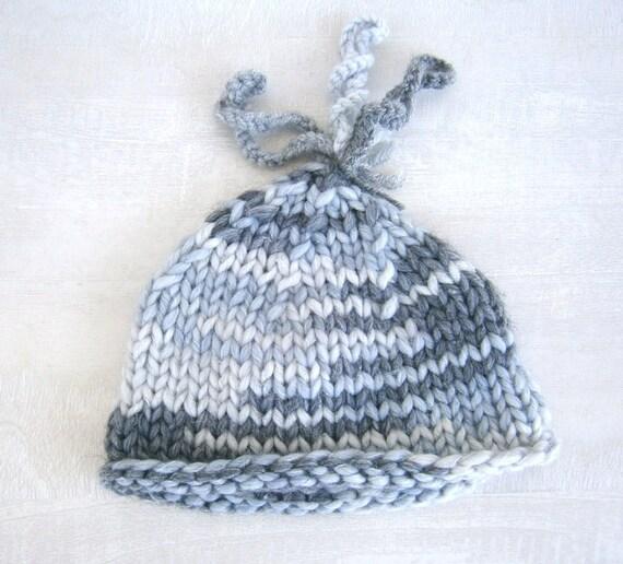 Newborn Baby Boy Hat, Baby Boy Photo Prop Hat, Knit Baby Hat , Infant Boy Hat Baby