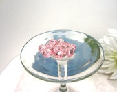 Swarovski Crystal Beads 8mm Art 5005 Light Rose Square Facets 1 Dozen