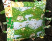 Hand Made Childs Taggie Cushion