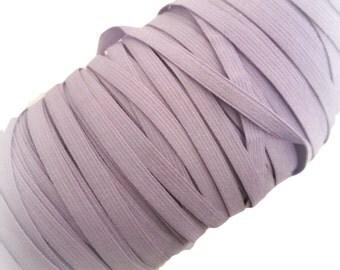 """1/4"""" Light Purple Elastic. 5 Yards"""