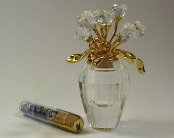 Swarovski Memories Rose Vase