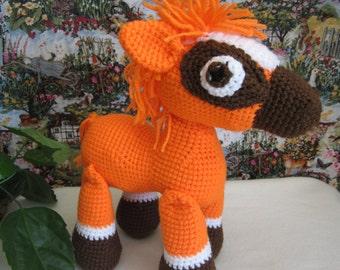 Crochet horse ...Stuffed toy