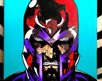 Magneto Canvas Painting