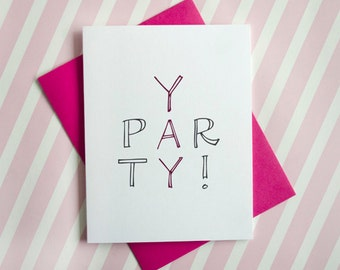 Yay Party Pink