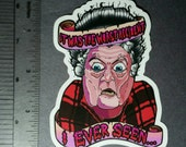 Large Marge Worst Accident I Ever Seen VINYL STICKER by brutalsquid