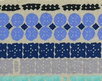 Cotton + Steel - Alexia Abegg - Paper Bandana - Canvas Paper Cuts Sky - Cotton/Linen Canvas
