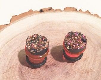 Pink Geode 00G gauges plugs