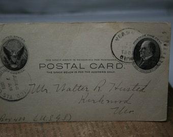 Antique Postcard - 1908