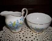 Royal Standard Fine Bone China Cream and Sugar Bowls made in England
