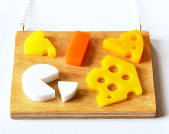Cheese Board Necklace
