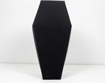 Coffin shaped box