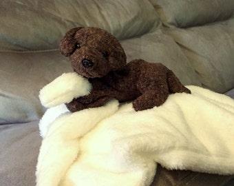 Custom blankie babies - you choose animal and blanket color