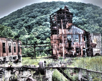 Old Mountain Sawmill Panoramic
