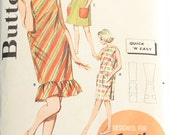 Butterick 2288 UNCUT Sewing Pattern Straight or Flared Shift or BeachDress Size 16 Bust 36